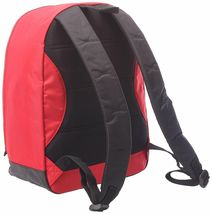 WeSC We are Superlative Conspiracy Cullen Lollipop Red Backpack School Bag NWT image 3
