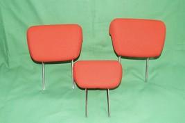 10-13 Kia Soul Rear Back Cloth 3 Headrests Headrest Set RED