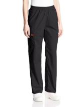 Dickies Women's EDS Signature Scrubs Pant Black XL #J41 - $24.99
