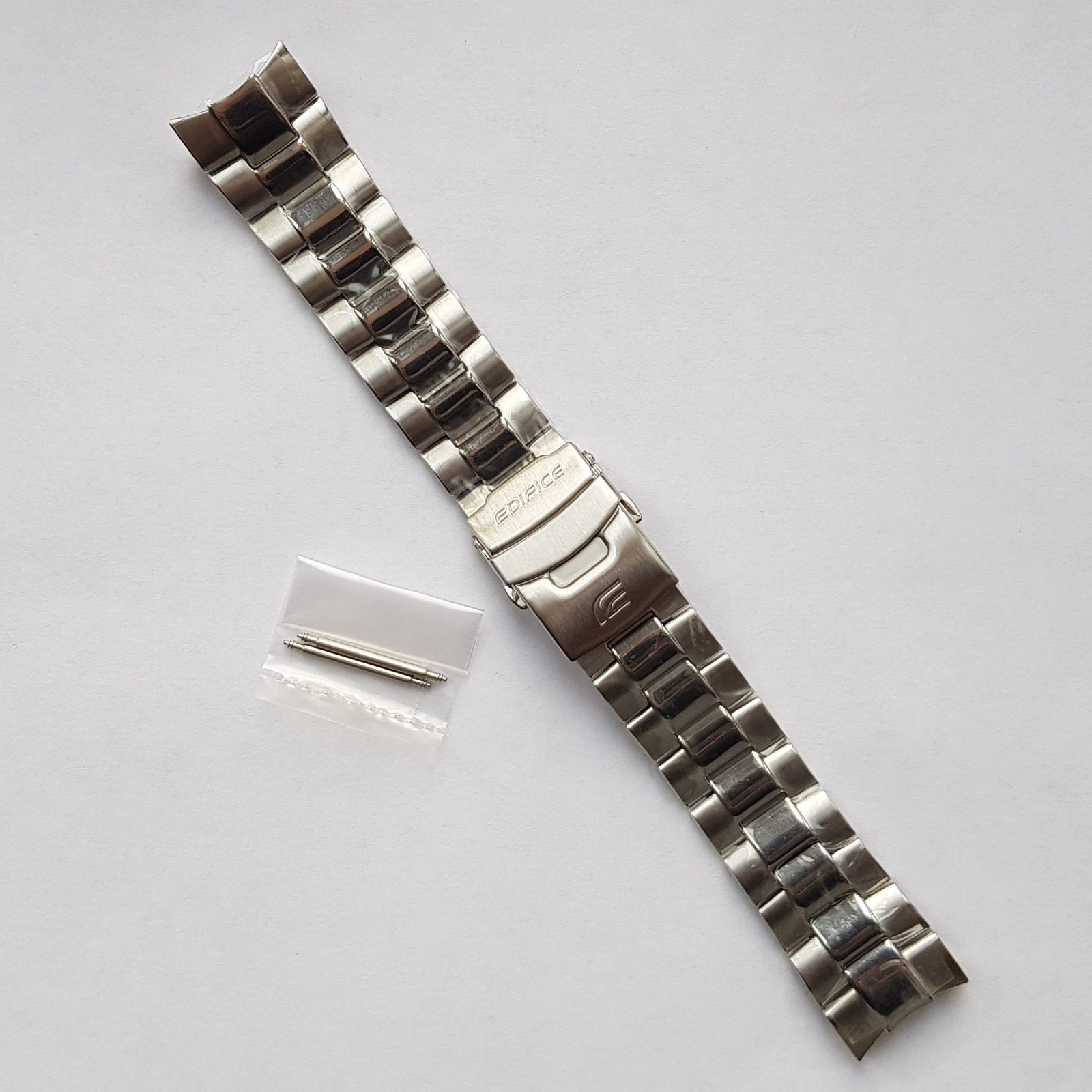 Primary image for Genuine Replacement Watch Band 22mm Stainless Steel Bracelet Casio EMA-100D-1A1