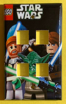 Lego Star Wars Light Switch Duplex Outlet Power wall Cover Plate Home decor image 3