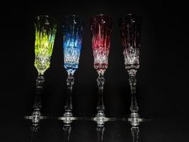 Faberge Xenia Flutes et of 4  NIB - $975.00