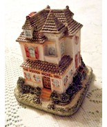 Americana Collection Old West Town Liberty Falls The Wooden Nickel Inn AH42 - $9.85