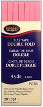 """Wrights ¼"""" Double Fold bias tape PC 201 - New in package - 2 Pink 201 061 - $4.55"""
