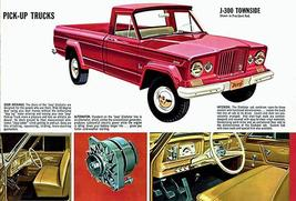 1962 Jeep J-300 Townside Pick-Up Truck - Promotional Advertising Poster - $9.99+