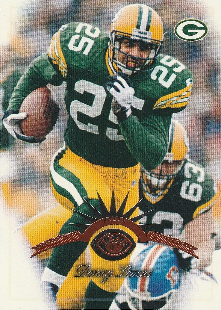 Primary image for 1997 Leaf #26 Dorsey Levens
