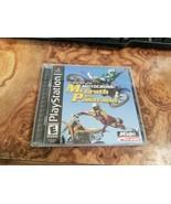 PS1 Sony Playstation - Game - Freestyle Motocross Mcgrath vs Pstrana - $4.94