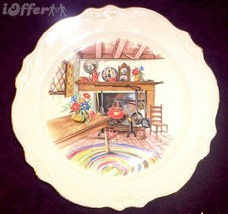HOMER LAUGHLIN COLONIAL KITCHEN LUNCHEON PLATE - $7.95