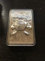 23K Gold-Plated Trading Card Pokemon Poliwhirl #61 - Burger King 1999 Ni... - $11.76
