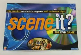 Scene It 1st Edition 2003 Screenlife Movie Trivia Board Game  - $14.01