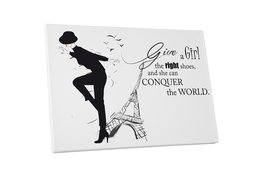 """Pingo World 0712QRKGFLM """"Right Shoes Will Conquer the World Fashion"""" Gal... - $43.51"""