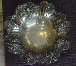 """Reed & Barton Francis I Pomegranate Sterling Silver Bowl  7.75"""" Diameter 10 ozt - $275.00"""