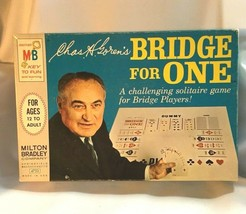 Vintage Game Chas. H. Gorman's Bridge For One Milton Bradley 1967 Game N... - $20.32