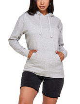Women's Soft Lightweight Pull Over Sweatshirt Casual Drawstring Hoodie Sweater image 11