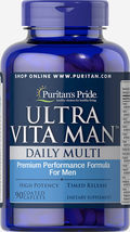 Puritan's Pride Ultra Vita Man Time Release - $59.99