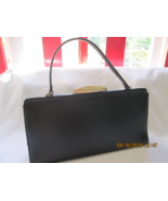 Vintage Theodor of California purse, handbag, beautiful black with handl... - $25.00