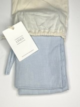 Restoration Hardware Garment-Dyed Linen Standard Sham 100% Linen Sky NEW $99 - $37.99