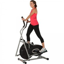 Gym Equipment Air Elliptical Trainer Cardio Fitness Workout Machine LCD ... - $128.69