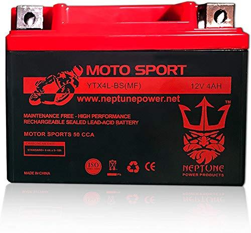 Primary image for YTX4L-BS High Performance Battery for Honda XL250L 91-96 by Neptune