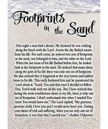 Christian Brands Footprints in The Sand Journal - 12/pk - $46.48