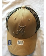 Team Alabama Crimson Tide NCAA Camo Mossy Oak Cap One size New with Tags - $14.20