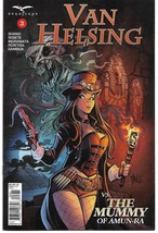 GFT VAN HELSING VS THE MUMMY OF AMUN RA #3 (OF 6) CVR C (Zenescope 2017) - $2.99