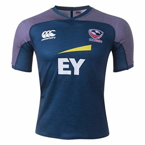 CCC Canterbury USA Rugby Vapodri SS Training Jersey, Medium Navy