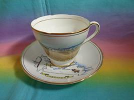 Royal Ascot Fine Bone China Newfoundland & Labrador Souvenir Teacup & Sa... - $5.91