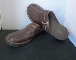 CLARKS - Women's Brown Bendables Clog Mules Shoes - SIZE 10M - $19.99