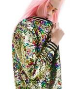 NWT Victoria's Secret LOVE PINK Floral Bling Sequin Varsity Bomber Jacke... - $355.00