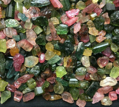 100% Natural Bi-Color/Multi Color Tourmaline Gough AAA+Quality Lot Loose... - $4.49+
