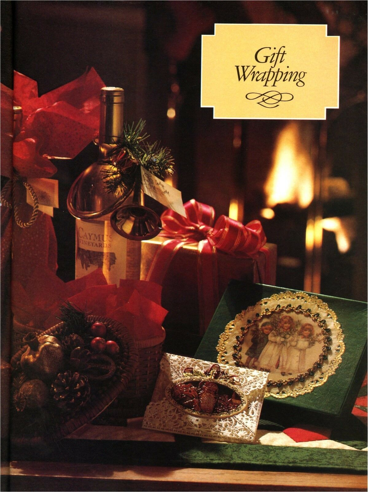 The Home Decorating Institute Hardcover Book Decorating for Christmas 1992