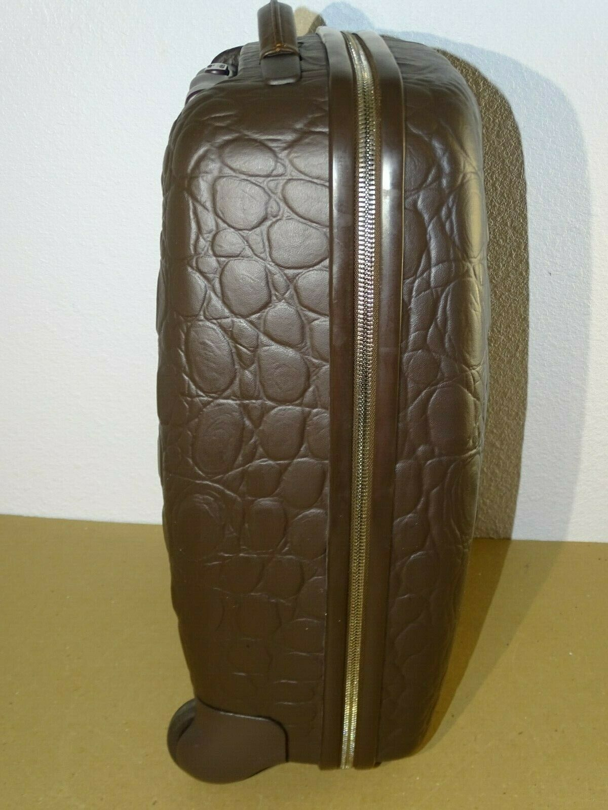 Samsonite Alexander McQueen Black Label Carry-On Suitcase Luggage Crocodile image 4