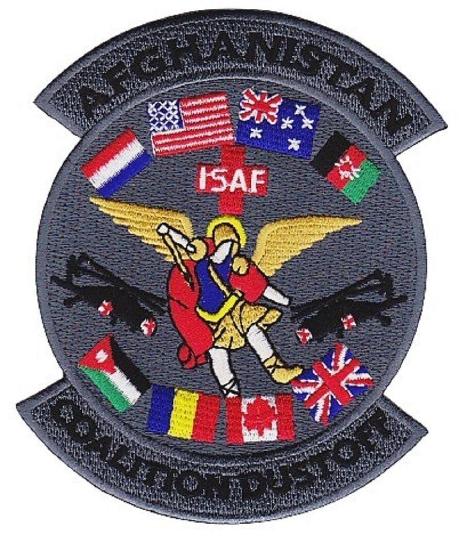 Primary image for US Army 3rd Sq 28th Avaittion Battalion AFGHANISTAN ISAF COALITION DUSTOFF Patch