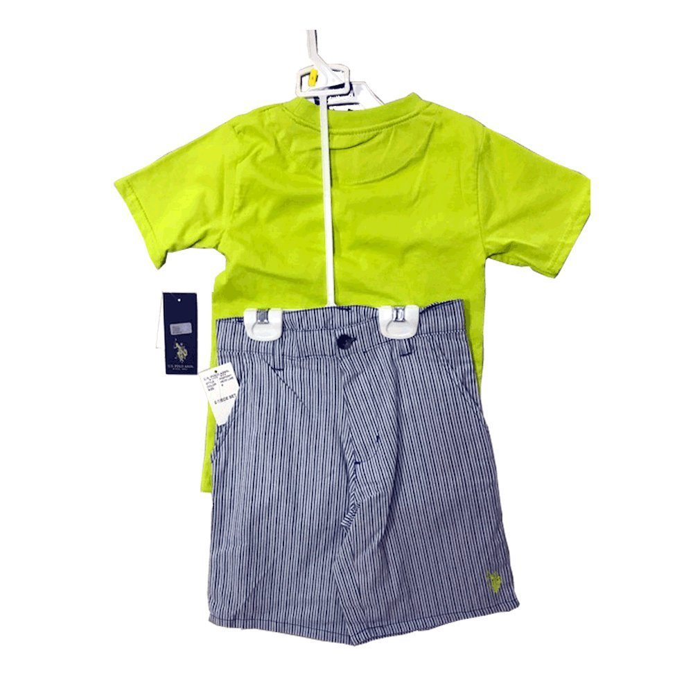 US POLO BOYS 2 PIECES SET 4-6 YEARS (6 YEARS)