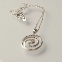 925 STERLING SILVER NECKLACE LAMINATED YELLOW GOLD,RHODIUM BY MARY JANE IELPO image 2