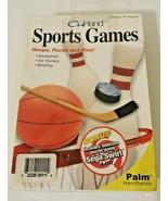 "On Hand ""Complete Astrologer"" & ""Sports Games"" Palm Handhelds Bundle - $19.79"