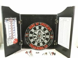 Rare Sons of Anarchy Dart Board Game Bar Man Cave image 2