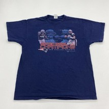 Super Bowl XXXVI 2002 NFC  T-Shirt Mens XL Blue Heavy Cotton - $17.99