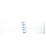 Nike Unisex Running All Sports Headband WHITE BLUE LOGO NEW - $6.50