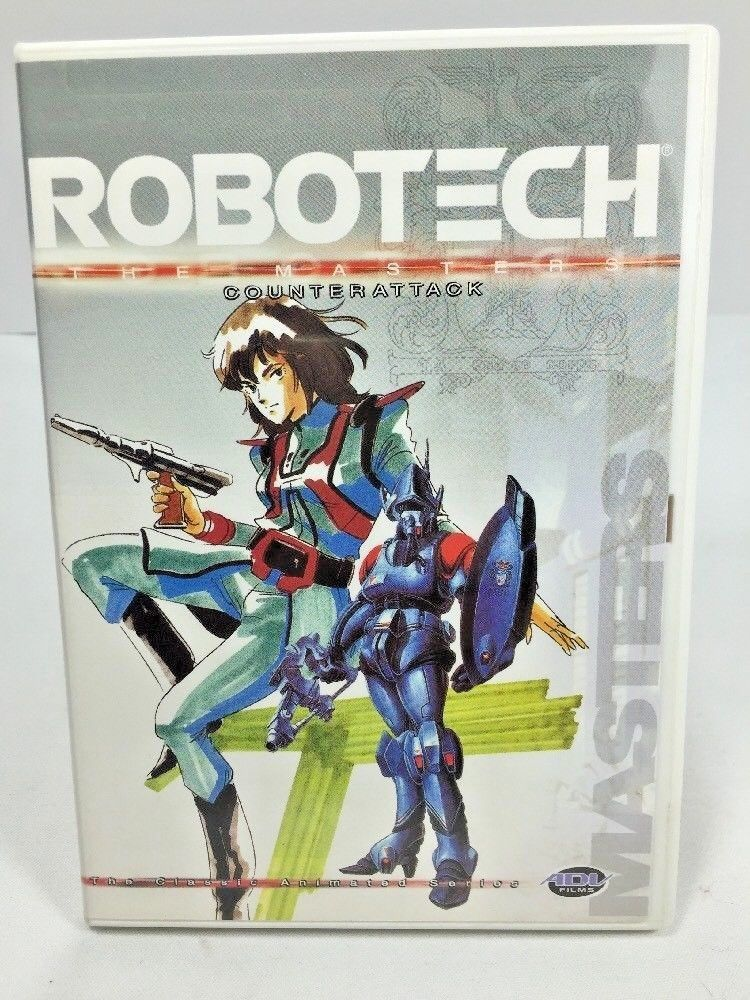 Primary image for Vol. 9 Robotech: The Masters - Counterattack 9 (DVD,2002) Episodes 49-54