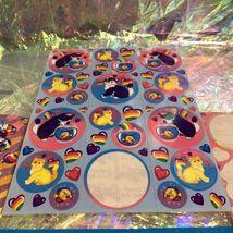 4 Sheets NotFull Lisa Frank Kitties  Fishbowl Balloon Playtime Sunflower Zebra image 3