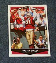 San Francisco 49er's Terrell Owens #81 WR Football Trading Cards AA-191804 Vinta image 4