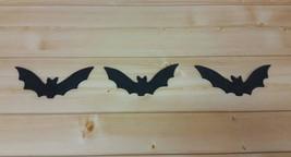 Halloween Black Bats - Halloween Decoration - Wooden Bat Silhouette - Ha... - $14.99