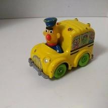 Playskool Bert's School Bus Sesame Street Used Die Cast 1986 Toy - $13.37