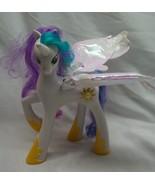 "MY LITTLE PONY Friendship is Magic TALKING PRINCESS CELESTIA 8"" Plastic Toy - $24.74"