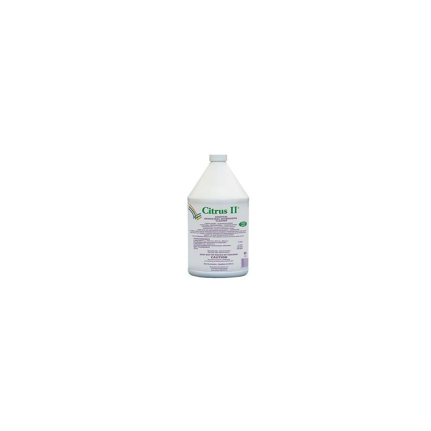Citrus II Hospital Germicidal Deodorizing Cleaner, Lavendar Scent (1 gal.)