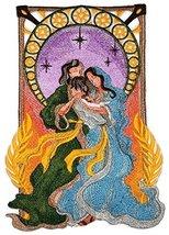 BeyondVision Christmas Art Nouveau Nativity [Mary, Joseph, and Jesus] Em... - $29.69