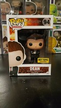 Funko Pop! Television Supernatural Dean #94 Hot Topic Exclusive WITH PRO... - $78.34