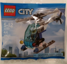 LEGO CITY 30351 Police Helicopter Polybag [New] Building Toy - $12.98